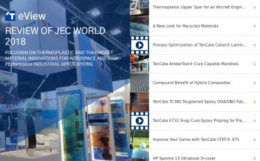 TenCate eView - JEC World 2018 preview